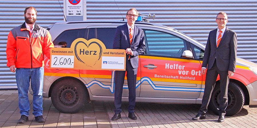BIld BRK Spende an HvO Hollfel