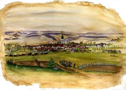 BIld Gefrees um 1840