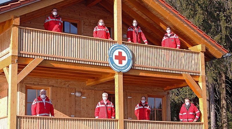 Das neue Leitungsteam der Kreiswasserwacht des BRK Kreisverbandes Bayreuth