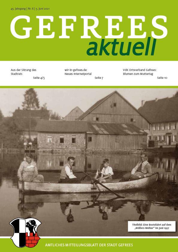 Bild Amtliches Mitteilungsblatt der Stadt Gefrees Juni 2021